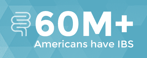 IBS statistic that 60 million Americans have IBS