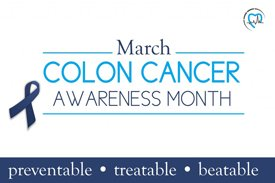 colon cancer awareness month - March 2017